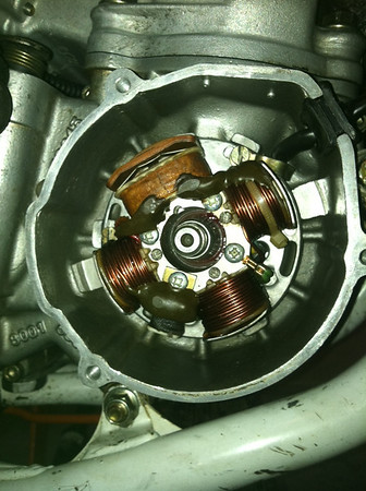 cc static timing help wr cafe husky i didn t know there was more than one type of ignition mine looks like this